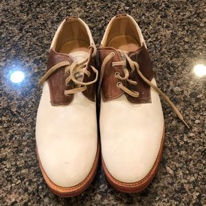 Other - Walk over nubuck brown and cream saddle shoes